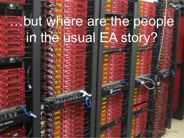 …but where are the people in the usual EA story? CC-BY-SA MysteryBee via Flickr
