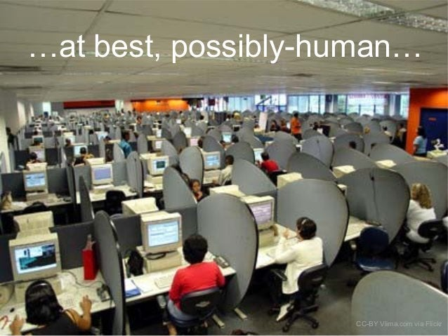 …at best, possibly-human… CC-BY Vlima.com via Flickr