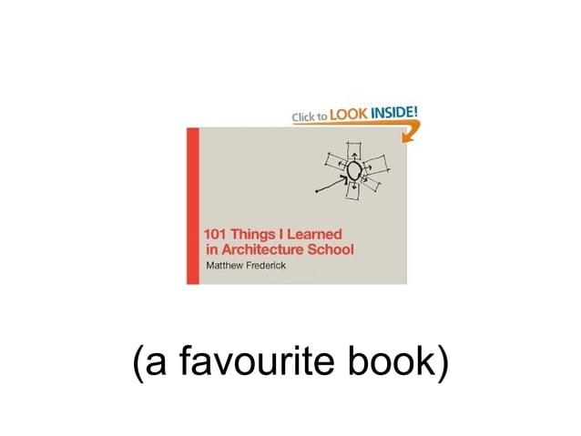(a favourite book)