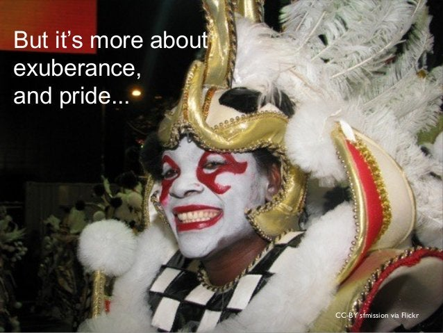 CC-BY sfmission via Flickr But it's more about exuberance, and pride...