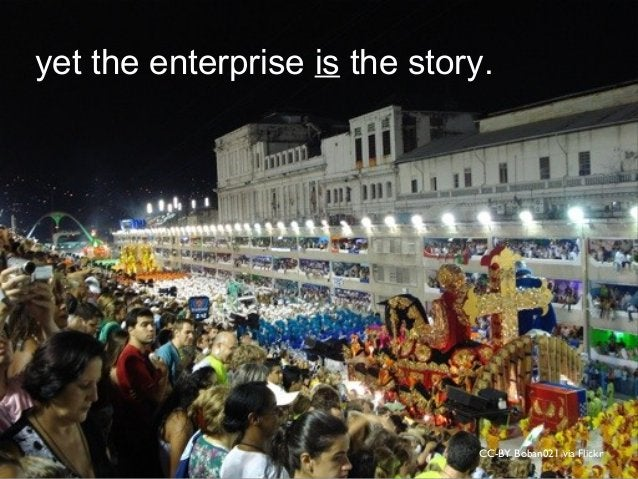 CC-BY Boban021 via Flickr yet the enterprise is the story.