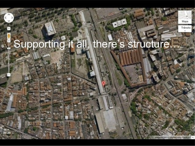 Supporting it all, there's structure…