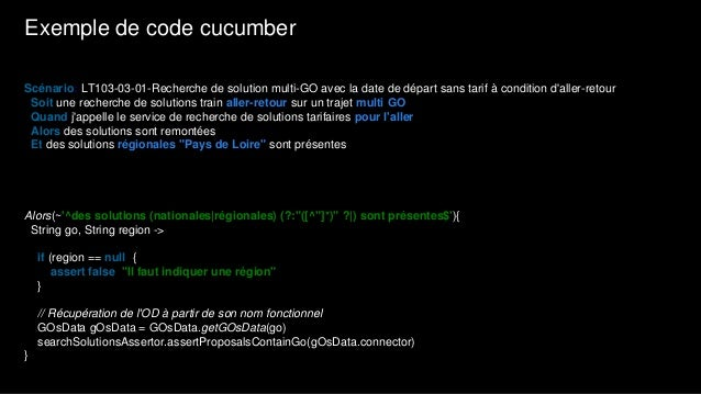 Extrait code orchestrateur de release public void createReleaseBranch(Delivery delivery, Execution execution) throws Excep...