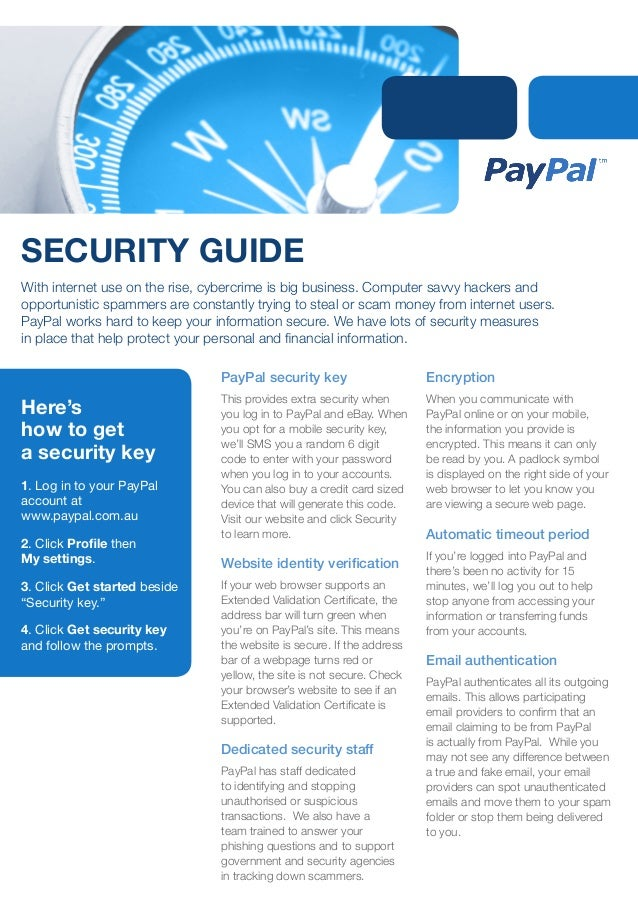 PayPal Cybersecurity Guide