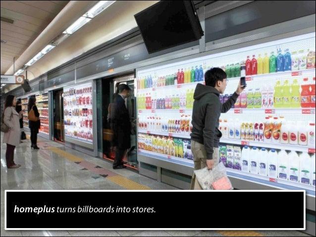 homeplus turns billboards into stores.