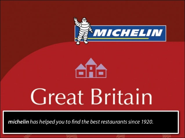michelin has helped you to find the best restaurants since 1920.