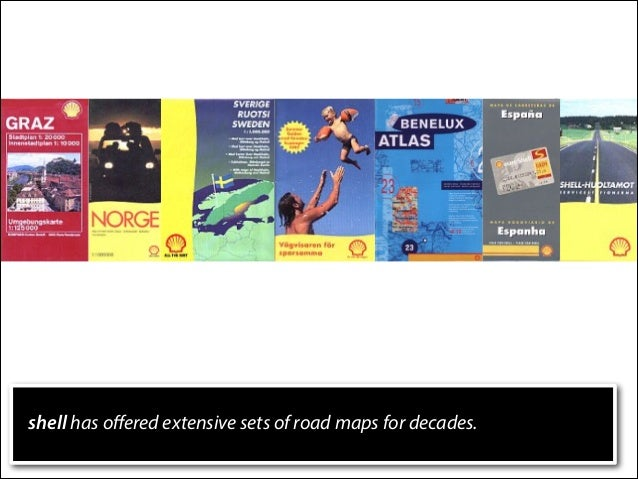 shell has offered extensive sets of road maps for decades.