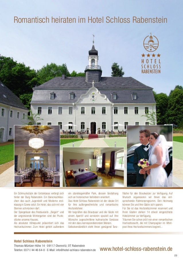 Magazin Heiraten In Chemnitz Zwickau In 2014