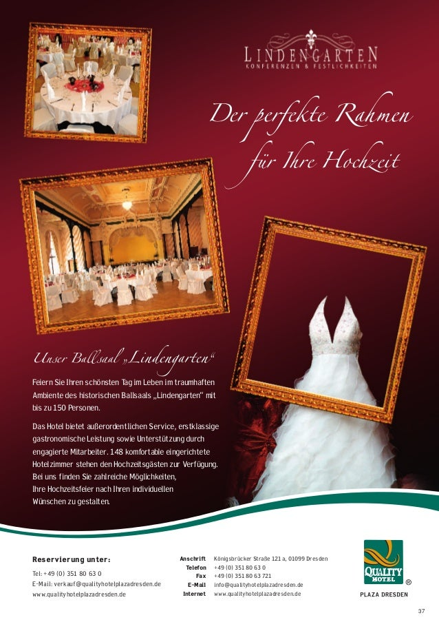 Ausgabe Heiraten in Dresden Magazin 2014