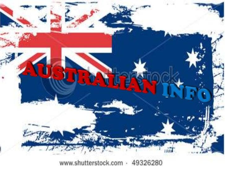 I <br />AUSTRALIANINFO<br />