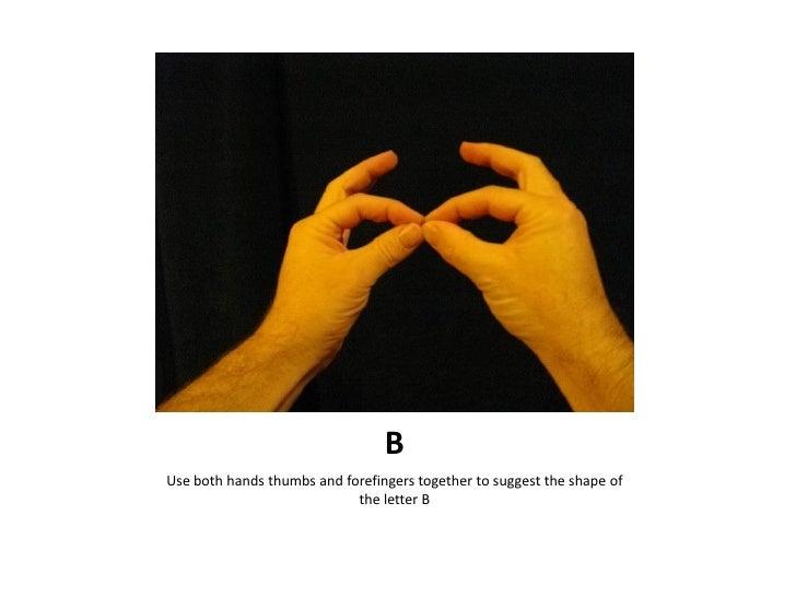 Auslan Alphabet Introductions Slide 2