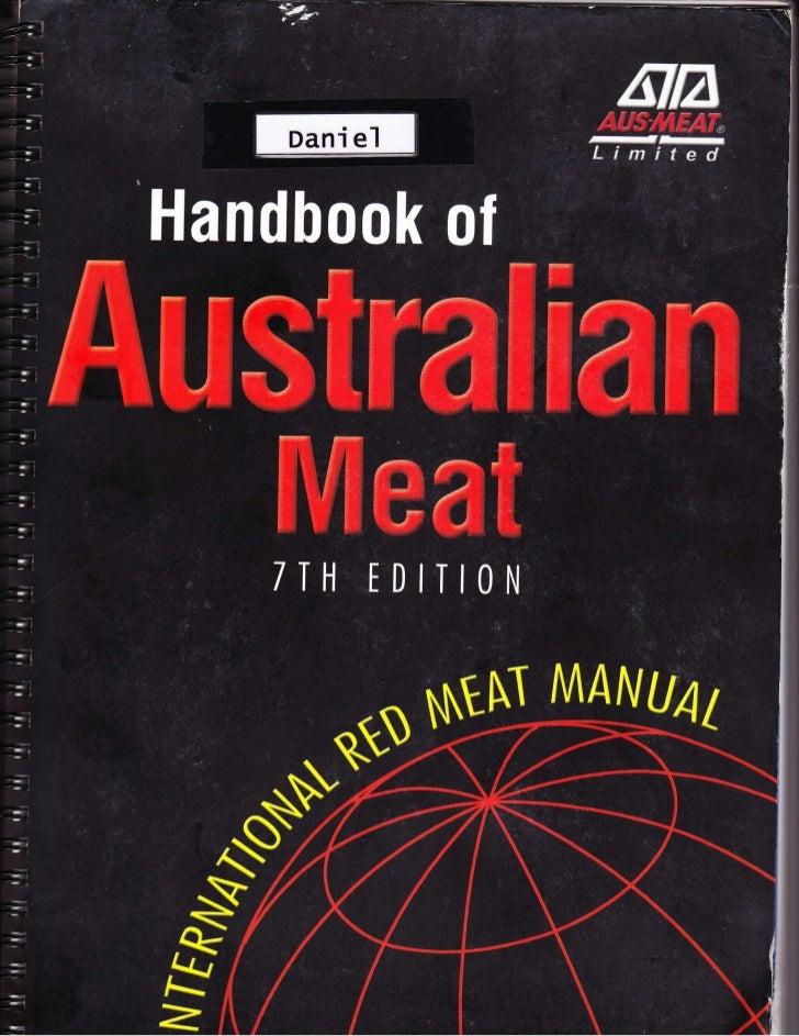 Meat Processing Ebook