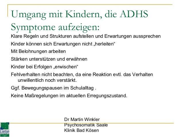 adhs symptome kinder