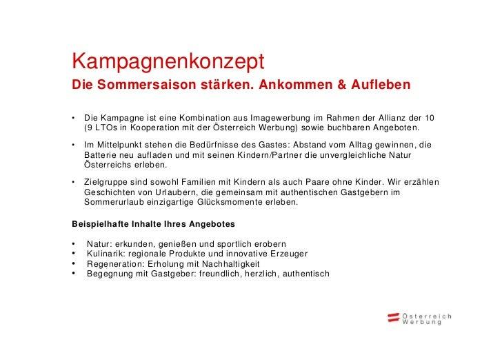 ÖW Marketingkampagne 2013 Deutschland Slide 3