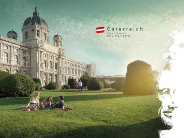 Kurz mal Österreich. Ankommen und aufleben. Österreich Werbung Deutschland 2014 iris.wermescher@austria.info fanny.brommer...