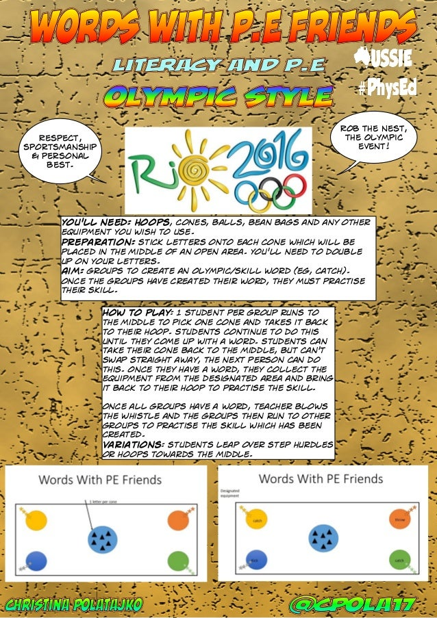 Aussie physed olympics ebook 2016 43 year 8 fandeluxe Images