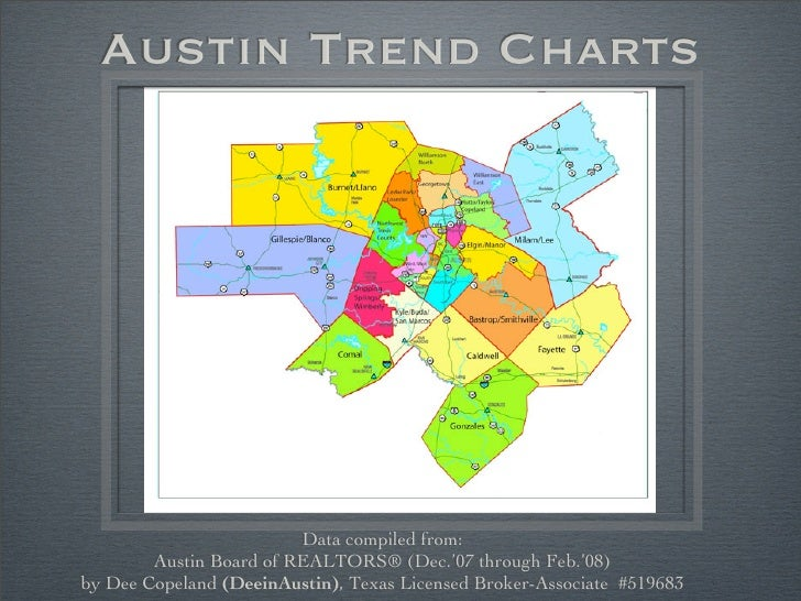 Austin Trend Charts                              Data compiled from:         Austin Board of REALTORS® (Dec.'07 through Fe...