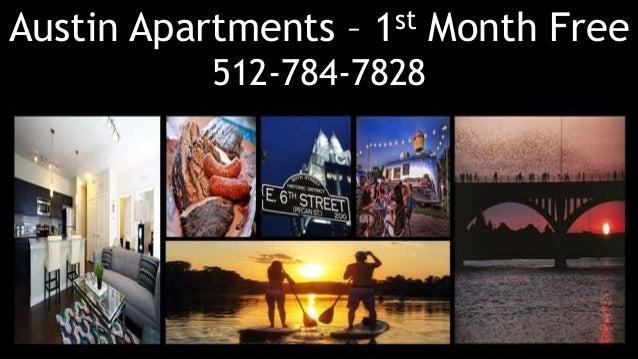 Austin Apartments – 1st Month Free 512-784-7828