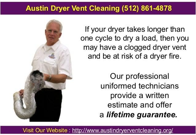Austin dryer vent cleaning Slide 2