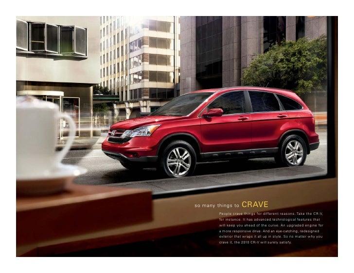 Austin honda cr v brochure 2010 for Honda cr v brochure