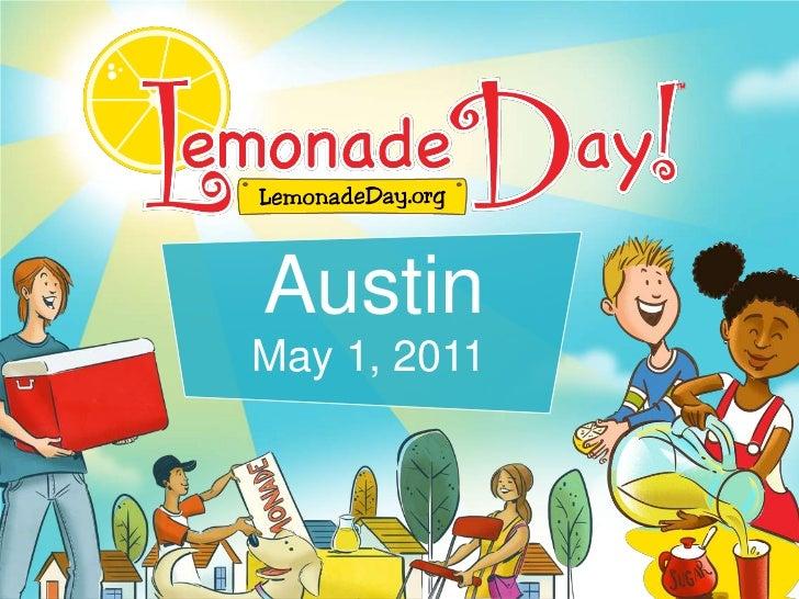 Austin<br />May 1, 2011<br />