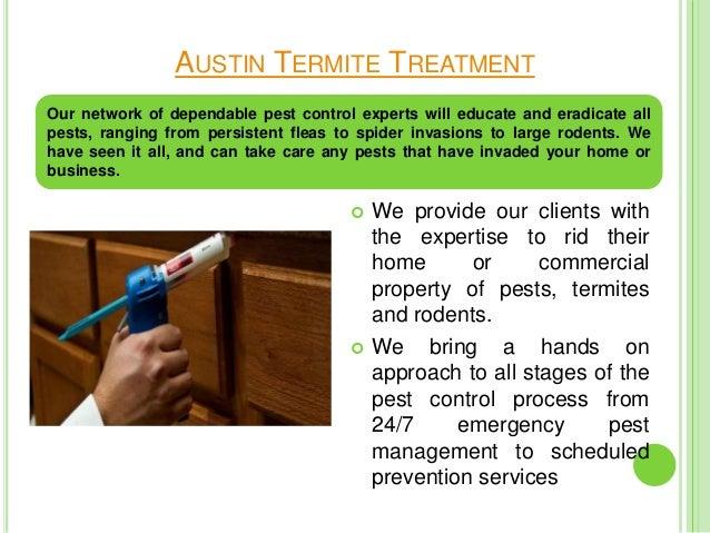 Austin pest control service Slide 2