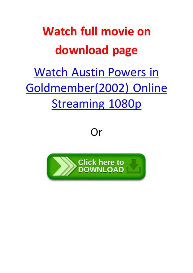 download austin powers goldmember