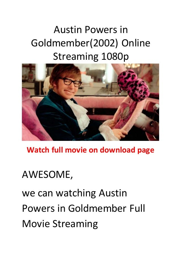 Austin Powers Goldmember Stream