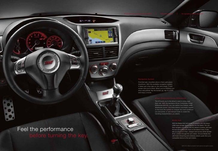 Austin Subaru Impreza WRX STi Brochure 2010