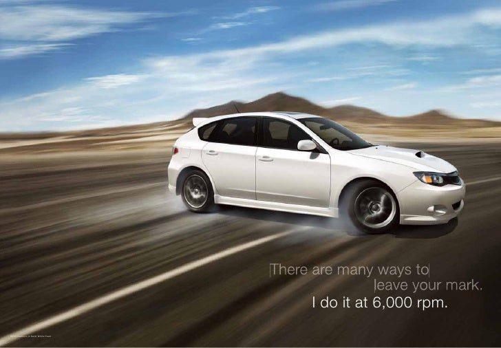 Subaru Boxer Engine >> Austin Subaru Impreza WRX STi Brochure 2010