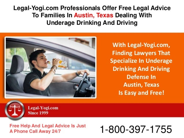 With Legal-Yogi.com, Finding Lawyers That Specialize In Underage Drinking And Driving Defense In Austin, Texas Is Easy and...