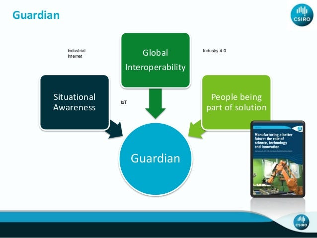 Guardian Angel • Monitors environment • Tracks people and assets • Make work safer for humans Guardian Mentor • Worker aug...