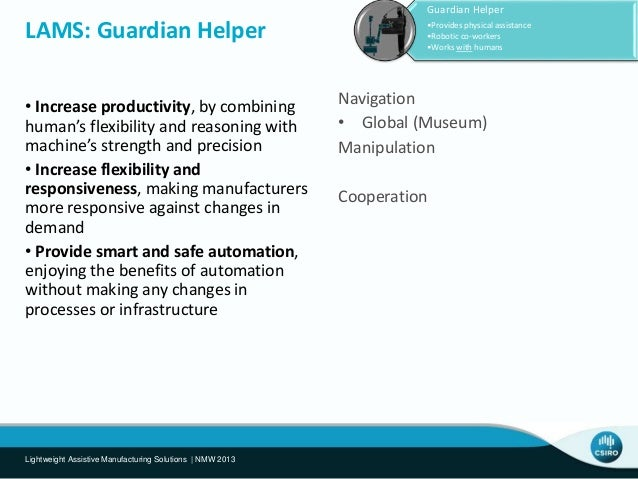 Autonomous Safety Zones 1. Create 3D Model 2. Monitor environment 3. Track people and robots 4. Measure risk 5. Detects ha...