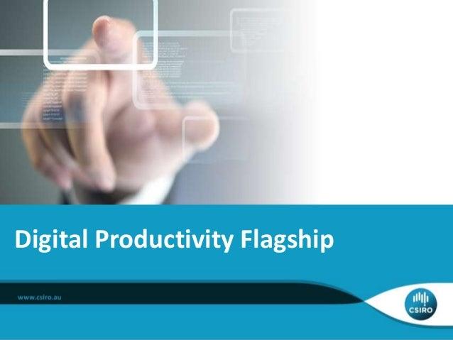 Digital Productivity Flagship