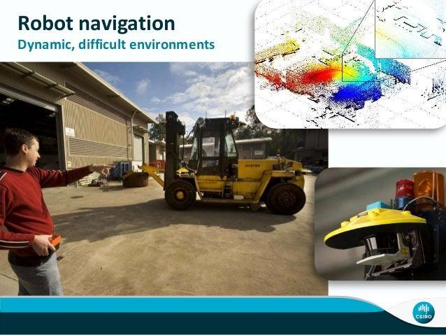 Robot navigation Dynamic, difficult environments