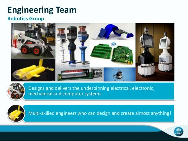Engineering Team Robotics Group Designs and delivers the underpinning electrical, electronic, mechanical and computer syst...