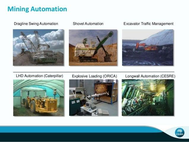 LIDAR - Primary Sensor for Field Robotics Dragline Terrain Mapping Haul Truck Scanning Explosive Loading Excavator Bucket ...