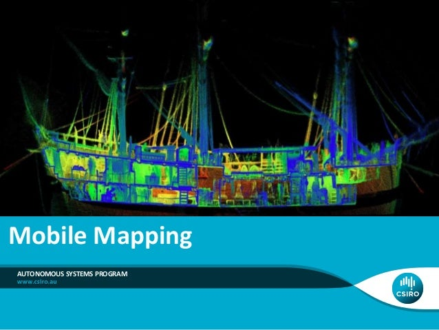 Large Scale Mobile Mapping Motion correction with accurate & precise sensors Manual Survey LIDAR DTM Mobile Mapping Real-t...