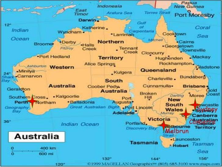 Australia Map Landmarks.Australian Landmarks