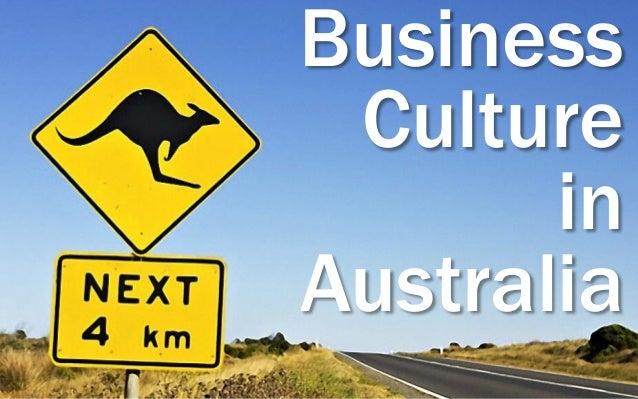 Business Culture in Australia