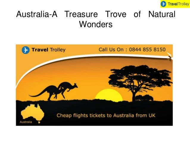 Australia-A Treasure Trove of Natural  Wonders