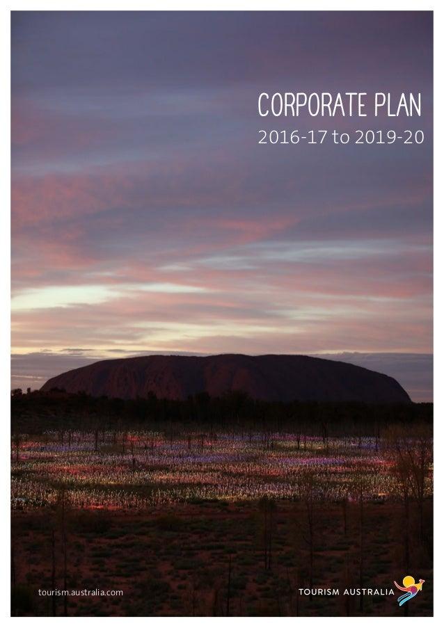 Australia Corporate Plan | 2016-2017 to 2019-2020