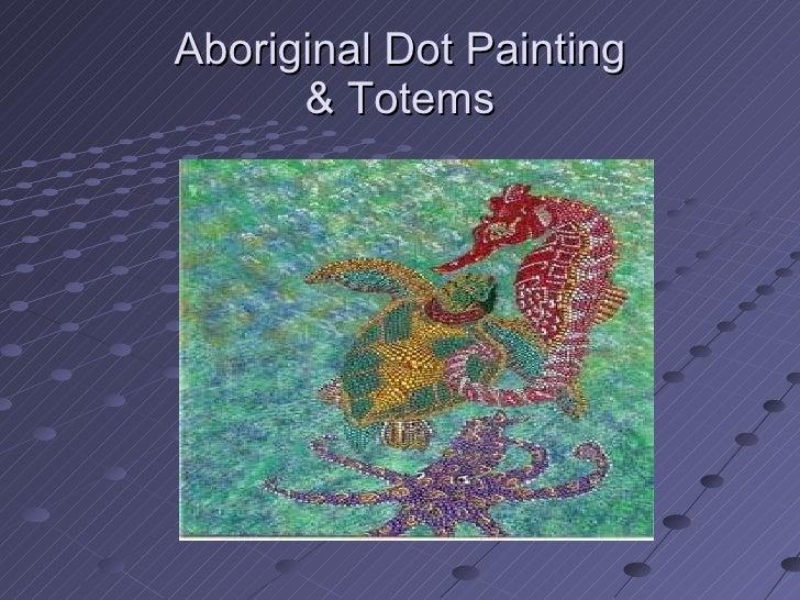Australia Dot Painting Aborigines