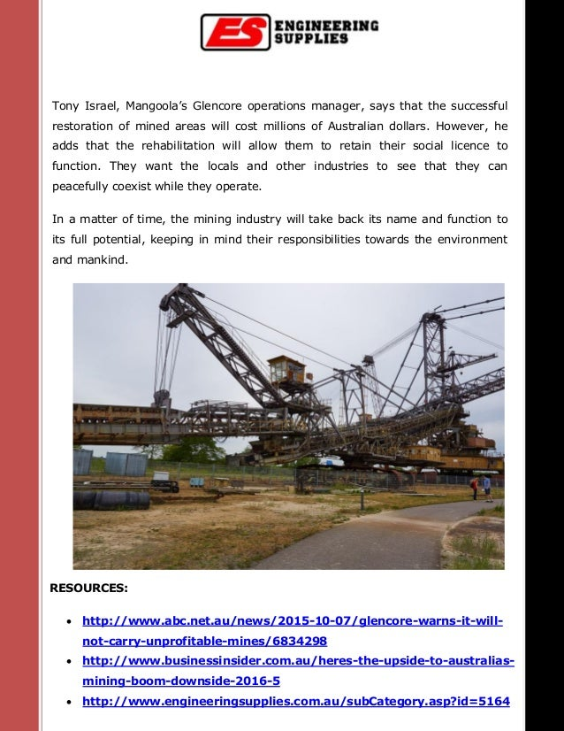RESOURCES:  http://www.abc.net.au/news/2015-10-07/glencore-warns-it-will- not-carry-unprofitable-mines/6834298  http://w...