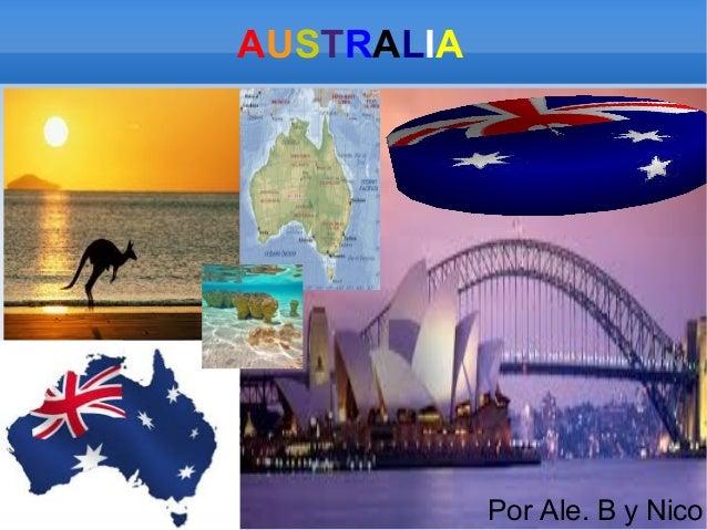 AUSTRALIA  Por Ale. B y Nico