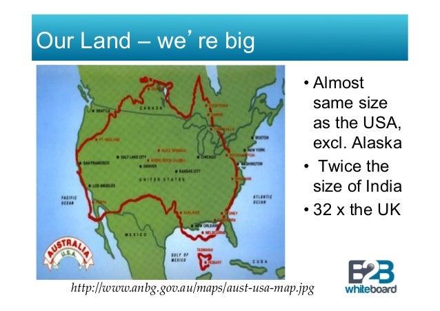 Maps Update #600398: Map Usa Vs Australia – How Big is Australia ...