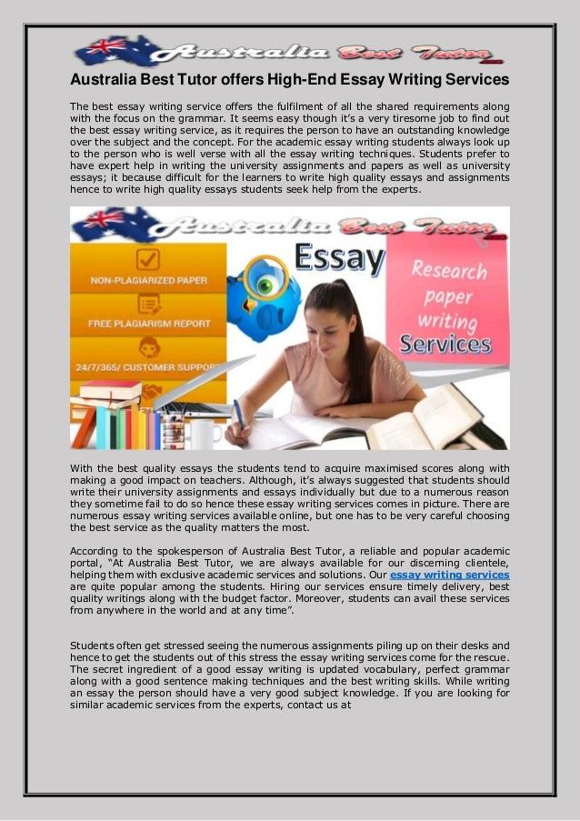 Dissertation writing services australia