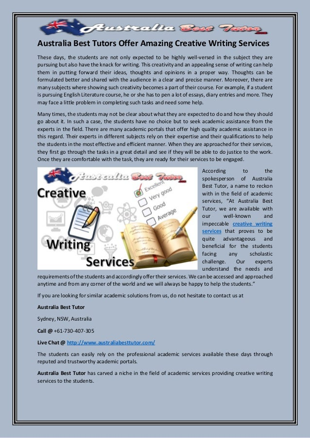 toronto creative writing services Edubirdie is a paid essay writing service that is committed to offering canadian students premium quality essays for affordable prices while providing a focused, personal approach while essay writing is one of our primary services, our team also offers help with a diverse range of academic assignments.