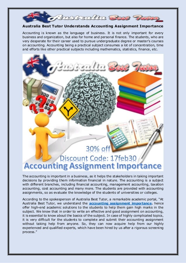 importance of business mathematics in accounting