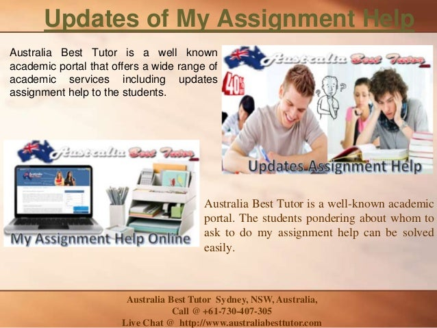 best tutor online assignment help